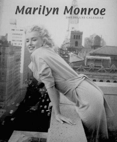 Vintage Marilyn Monroe Deluxe Calendar 2003 20th Century Fox