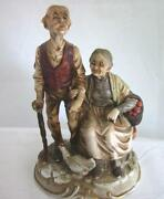 Old Couple Figurines