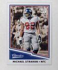 Panini Michael Strahan Single Football Trading Cards