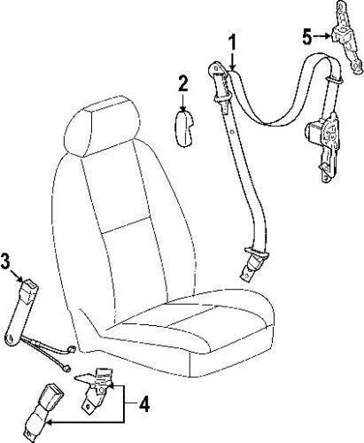 Silverado Seat Belt