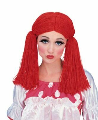 Rubies Rag Raggedy Ann Doll Wig Adult Womens Halloween Costume Accessory 50825](Raggedy Ann Wigs Adults)