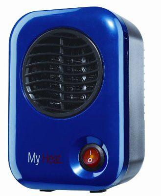 102 my heat personal heater blue