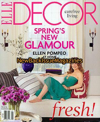 Elle Decor 5 10 Ellen Pompeo May 2010 New