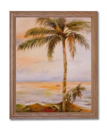 Palm Tree Framed Print Ebay