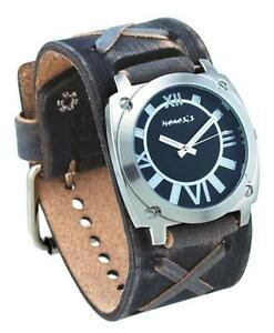 leather cuff watch mens leather cuff watch bands
