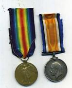 WW1 Medal Pair