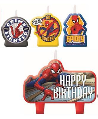 Spider Man Cake (Spider Man Webbed Wonder Birthday Candle Cake Decoration Party Supply)