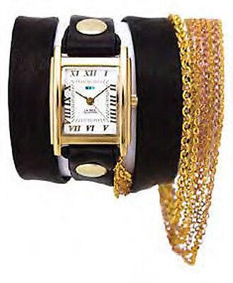Multi Chain Wrap Watch - La Mer Sunset Gold Multi Chain Wrap