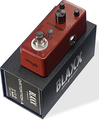 Stagg Blaxx Distortion Guitar FX Pedal BX-DISTA