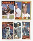 Baltimore Orioles Card Lot
