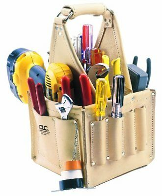 CLC Custom Leathercraft 526 Electrician's and Maintenance Tool Pouch, Top Grain