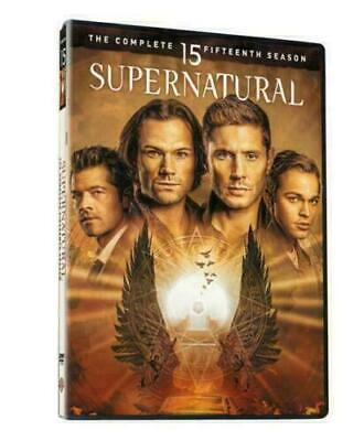 Supernatural Season 15 (DVD,5-Disc Set) New & Sealed Free Shipping US Region 1