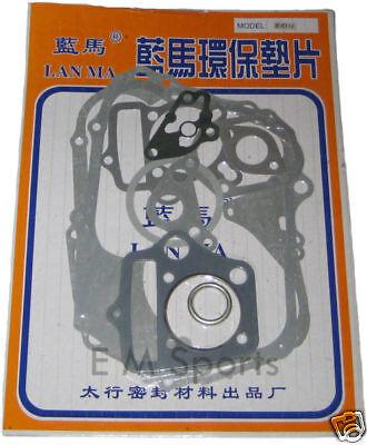 Chinese Dirt Pit Bike Parts 110cc Engine Motor Gasket Cylinder Kit Sets 52.4MM