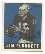 Jim Plunkett Autograph