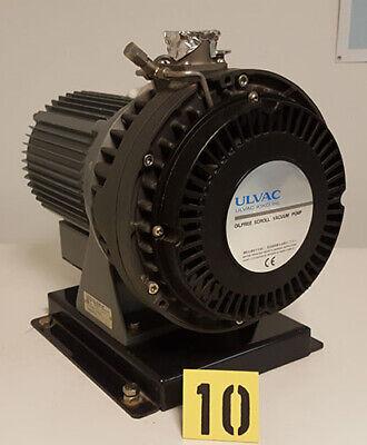 Ulvac Dis-500 Oil Free Scroll Vacuum Pump Tag 10