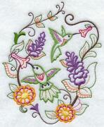 Embroidered Quilt Squares