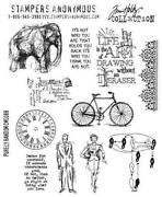 Elephant Rubber Stamp