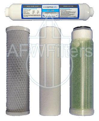 AFK-Psi replacement filter kit aquarium DI, sediment, carbon block, inline DI