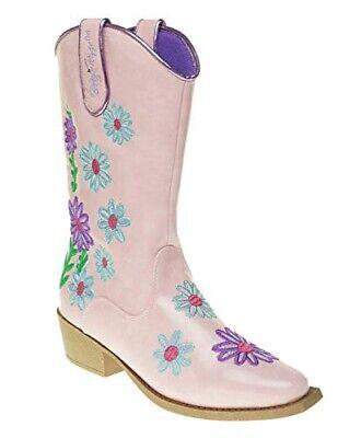 Blazin Roxx Daisy Blumenmuster Bestickt Mädchen Westen Cowgirl Stiefel Größe 5,5 ()