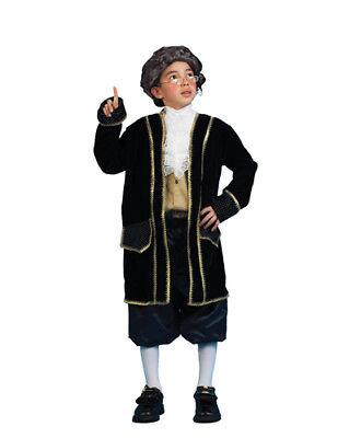 Ben Franklin Costumes (Ben Franklin Historical Child Costume)