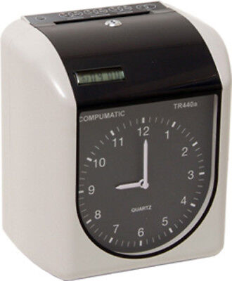 Compumatic Tr440a Heavy Duty Time Clock - New Clock Open Box