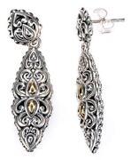 John Hardy Gold Earrings