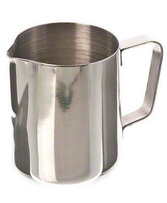 Espresso Milk Frothing Pitcher 12 Oz Stainless Steel Cup
