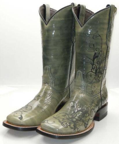 olive green boots ebay