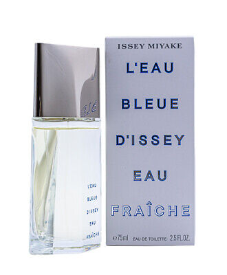 L'eau Bleue D'issey Eau Fraiche by Issey Miyake 2.5 oz EDT Cologne for Men NIB