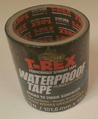 T-rex Waterproof Tape Uv Resistant 4 In X 5 Ft.
