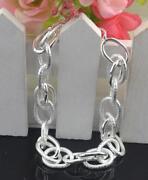 Sterling Silver Buckle Bracelet