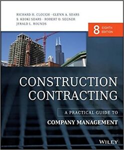 Construction Contracting 8th edition by Wiley Brand New