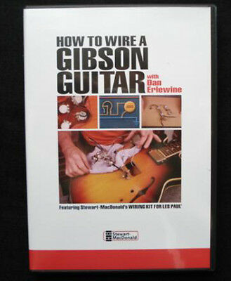 How to Wire a Gibson® Guitar (DVD) with Dan Erlewine / guitar repair