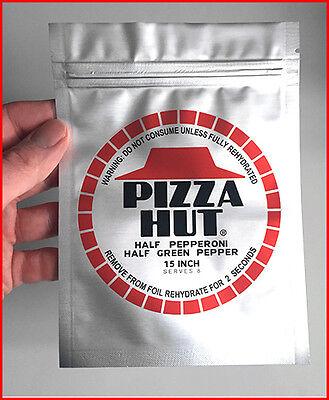 Zurück in die Zukunft Prop - Pizza Hut Folie Silber - Verpackung - ZidZ Trilogie