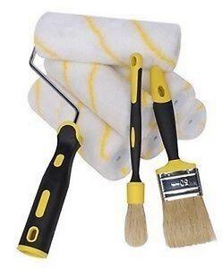 lot rouleaux rouleau pinceaux pinceau peinture outil peintre peindre 514p009. Black Bedroom Furniture Sets. Home Design Ideas