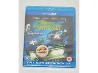 BLU RAY DVD 3D FILM THE GREEN HORNET BLURAY DIGITAL FULL HIGH DEFINITION SPECIAL