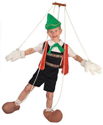 Puppet Pinocchio Childrens Halloween Costume](Pinocchio Costumes)