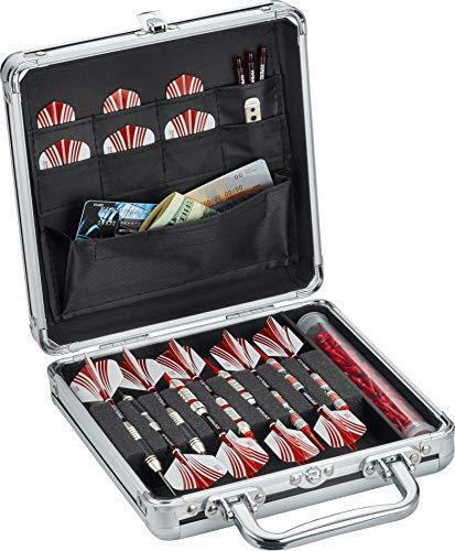 Casemaster Ternion Aluminum Dart Carrying Case Holds 9 Darts, Steel Tip or Soft