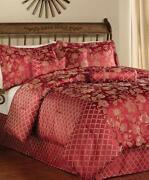 Burgundy Comforter