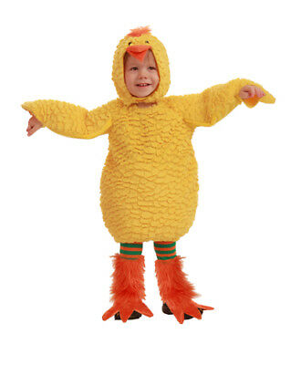 Baby Chick Costumes (Toddler Baby Chick Cute Animal Costume sz 6-12)
