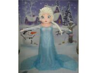Elsa from Frozen Adult Mascot Costume Excellent Condition £100