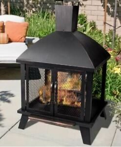 New in box Wood Burning Fire Pit for sale