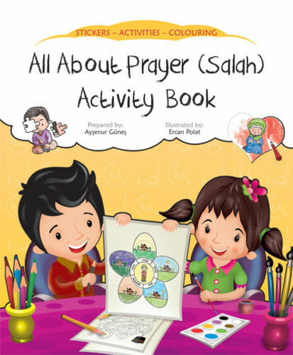All About Prayer (Salah) Activity Book (Stickers Colouring Childrens)