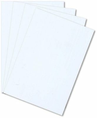 White Styrene .060 X 24 X 24 Plastic Sheet High Impact Polystyrene Hips