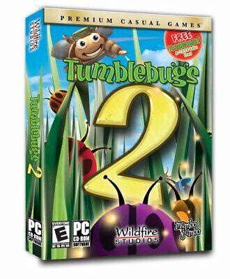 Computer Games - Tumblebugs 1 & 2 PC Games Windows 10 8 7 XP Computer kid puzzle gem match 3