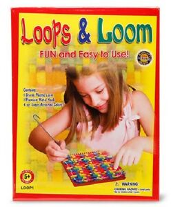 WEAVING LOOM KIT Loops & Loom MAKE POTHOLDERS Weave Set