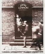 John Lennon Signed Photo