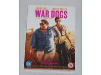 DVD FILM WAR DOGS & DIGITAL DOWNLOAD UVHD ULTRAVIOLET JONAH HILL MILES TELLER.**
