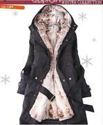 Damen Kapuzen Winterjacke 34
