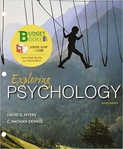 Exploring psychology myers books ebay exploring psychology 10th edition by david g myers loose leaf fandeluxe Images